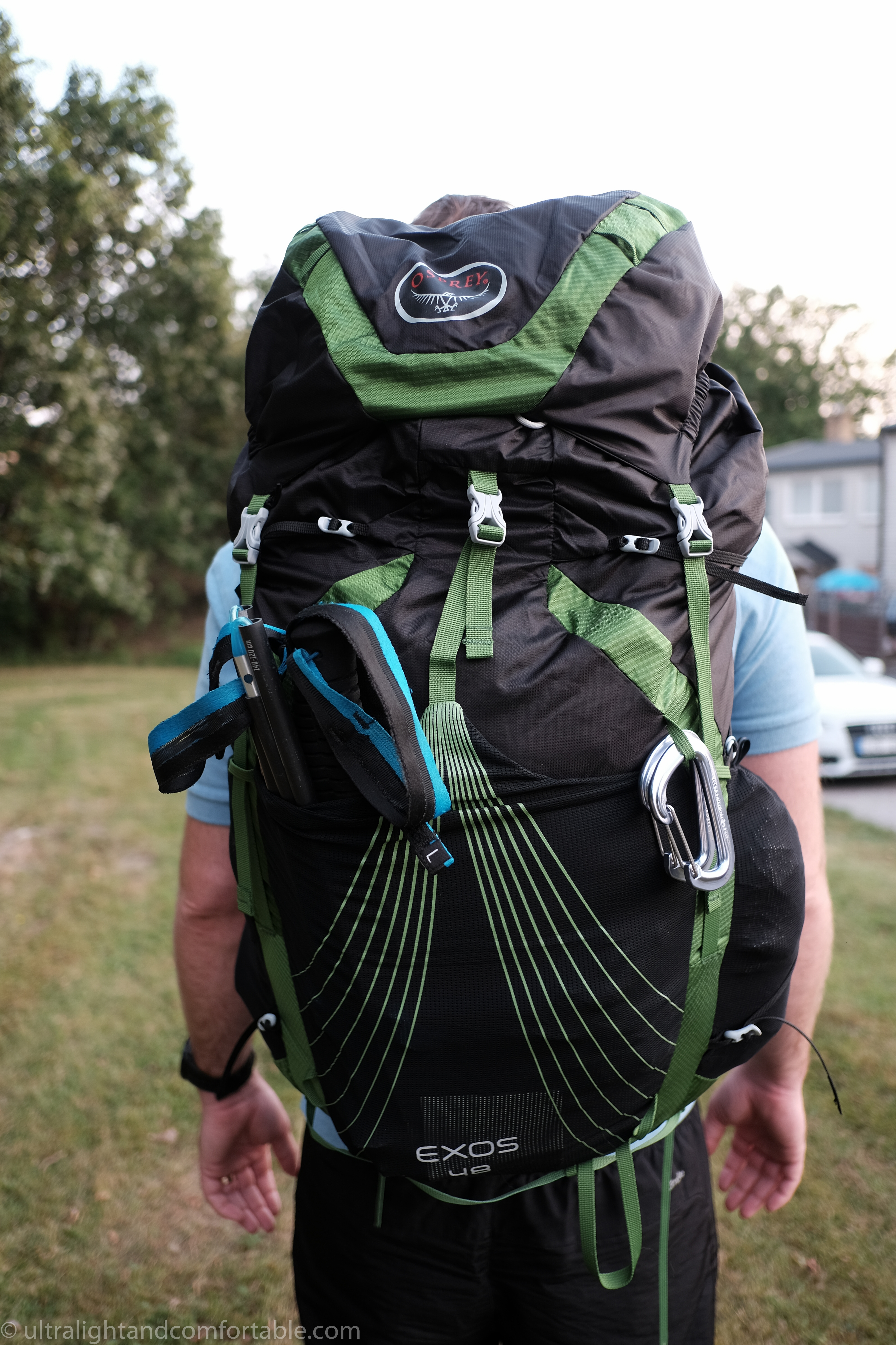 Osprey Exos 48 Backpack A Review Ultralight And