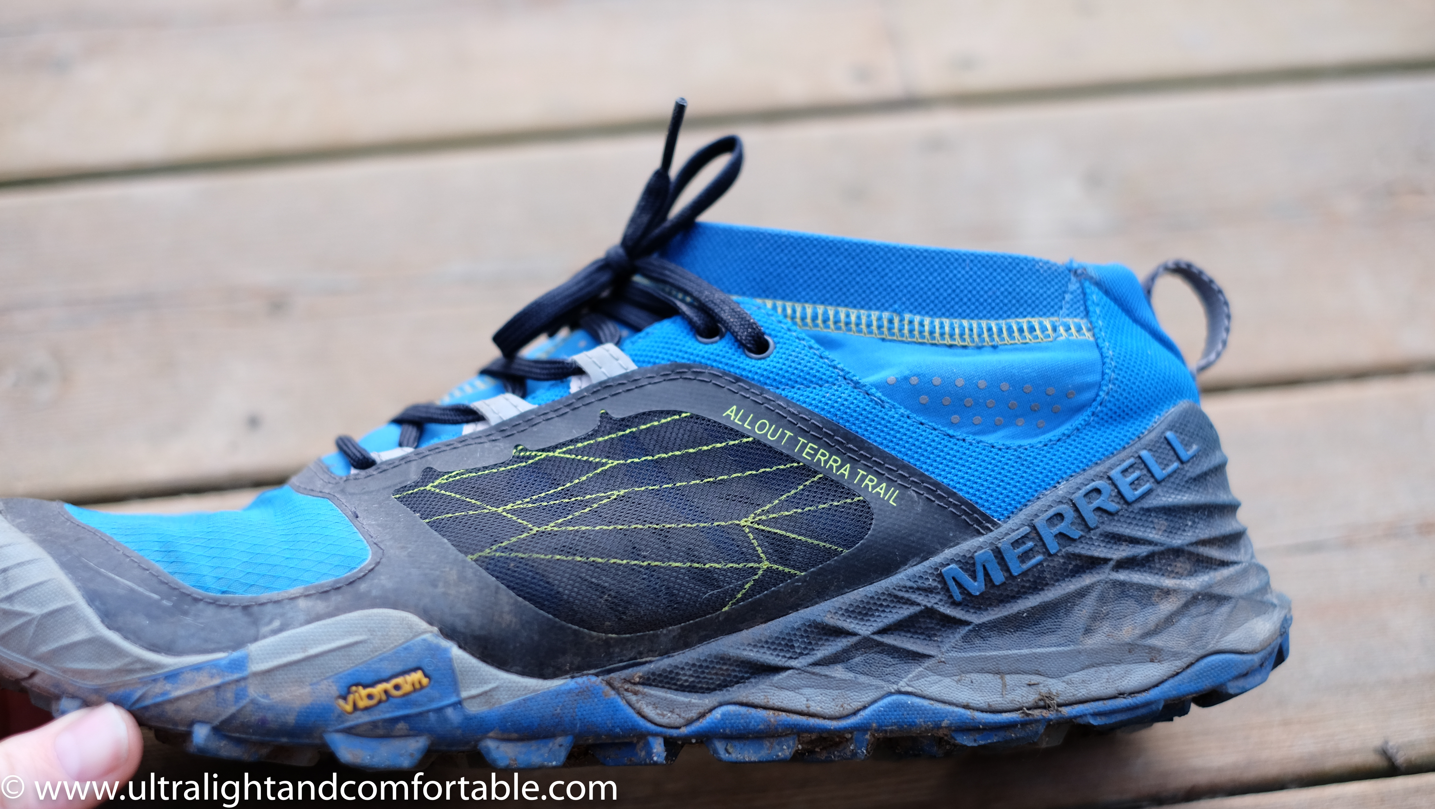 Merrell all out terra trail shoes