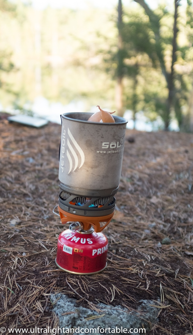 Gear review: Jetboil TI Sol